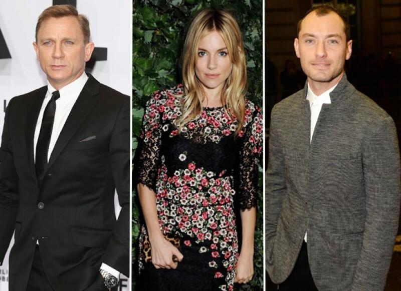 """El juicio del desaparecido periódico """"News of the World"""" ha develado un mensaje de voz dejado por la actriz al actor de """"James Bond"""" cuando mantenía un noviazgo con Jude Law en 2005."""