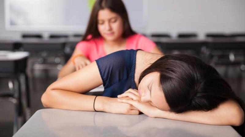 adolescente niña sueño