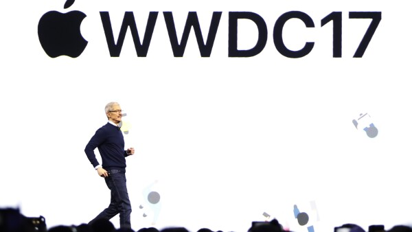 Tim Cook en el WWDC17