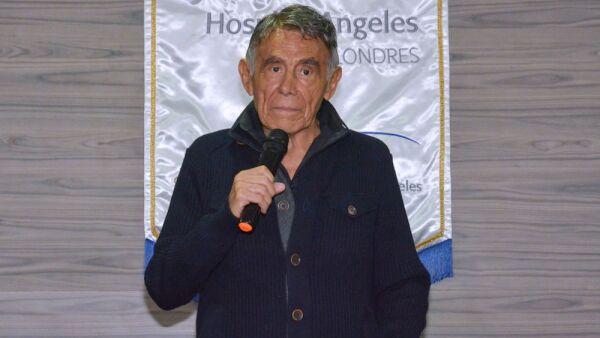 Actor Hector Suarez Press Conference In Mexico City