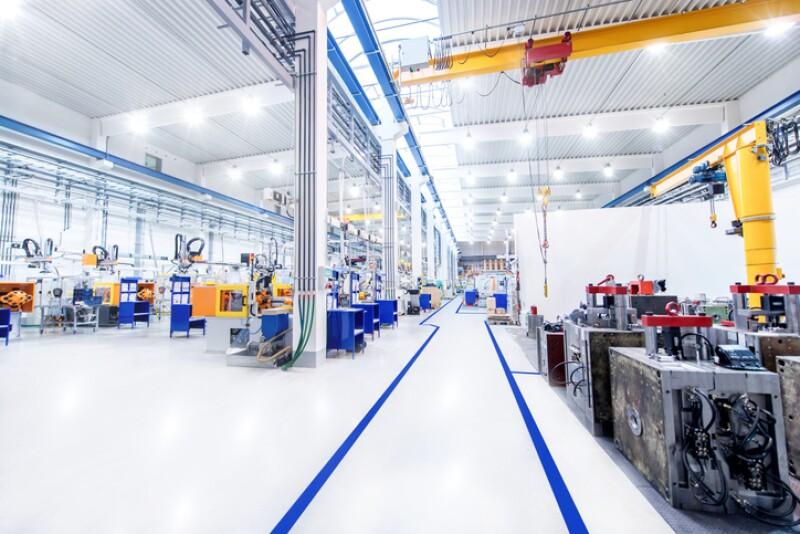 Interior de fábrica
