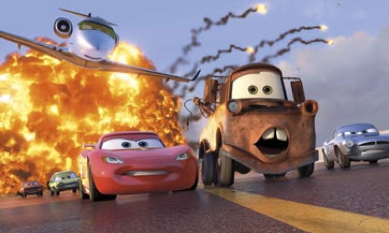 La cinta original 'Cars' debutó en 2006 con 60.1 millones de dólares.  (Foto: AP)