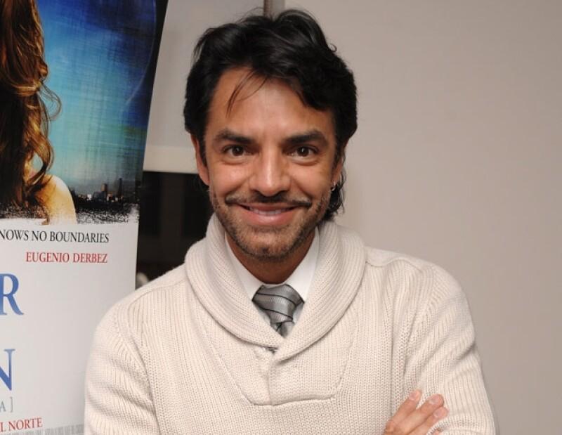 Eugenio Derbez quiso empezar de cero.