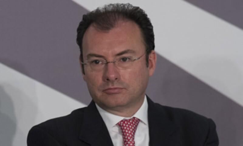 Luis Videgaray confía en que la reforma financiera se presentará en los próximos días a la Cámara Diputados. (Foto: Cuartoscuro)