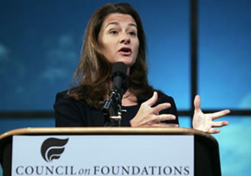 Melinda Gates reveló que Microsoft  hace productos para la Macintosh. (Foto: Archivo AP)