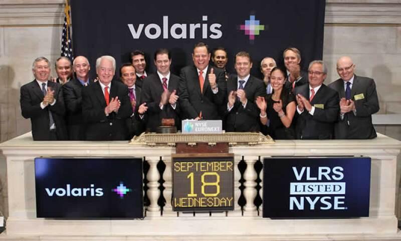 Con la entrada de Volaris ahora existen 15 empresas mexicanas cotizando en la Bolsa de Nueva York.  (Foto: Cortesía Volaris)