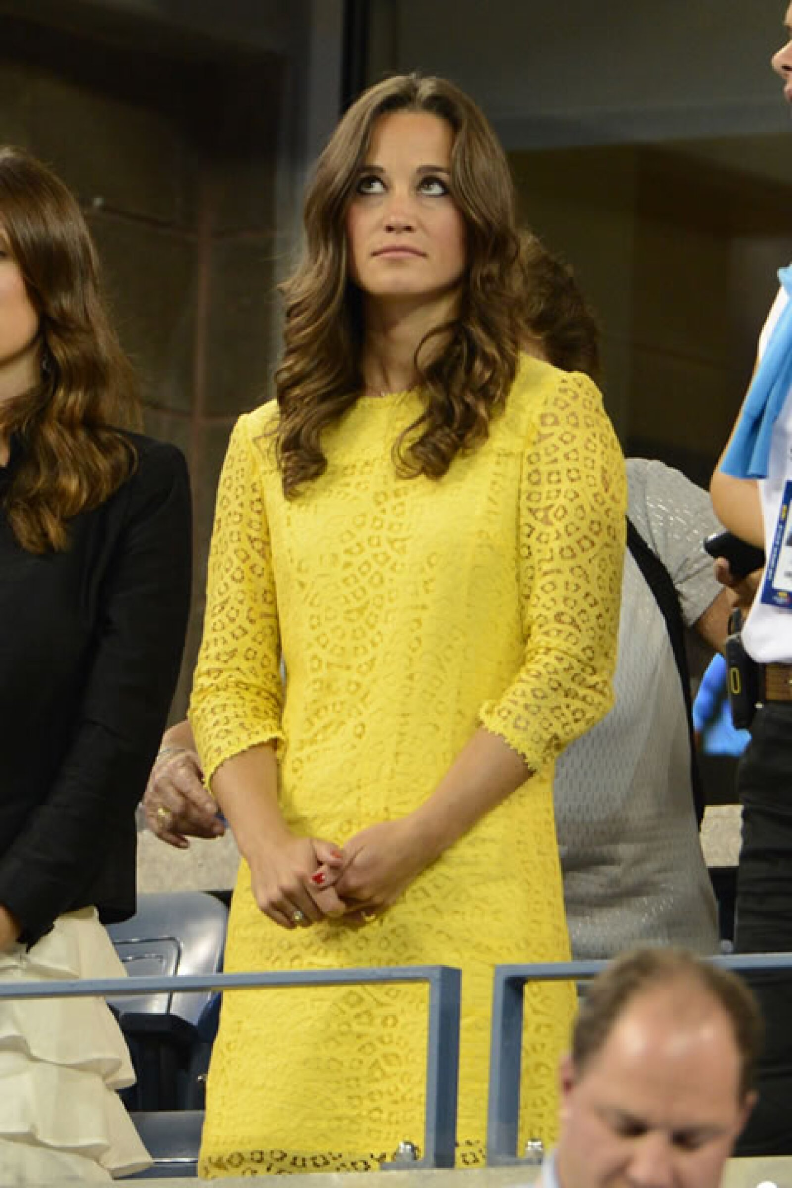 Uno de nuestros looks favoritos fue el que utilizó para el US Open el año pasado. Éste resaltó el color de su piel y mostró su lado más femenino.