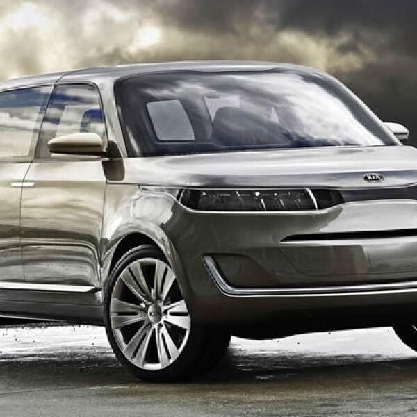 """""""Deportivo y para todos los terrenos"""", así anunció la automotriz coreana su nuevo modelo concepto en la feria de Detroit. La empresa ofreció pocos detalles del automóvil, aunque dijo que espera tener una versión de producción antes de 2013."""