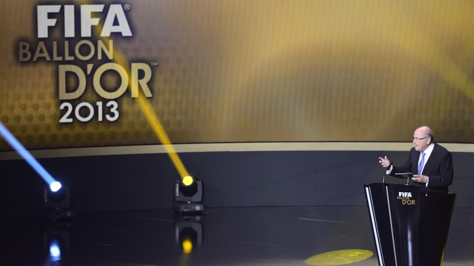 Balón de Oro Joseph Blatter