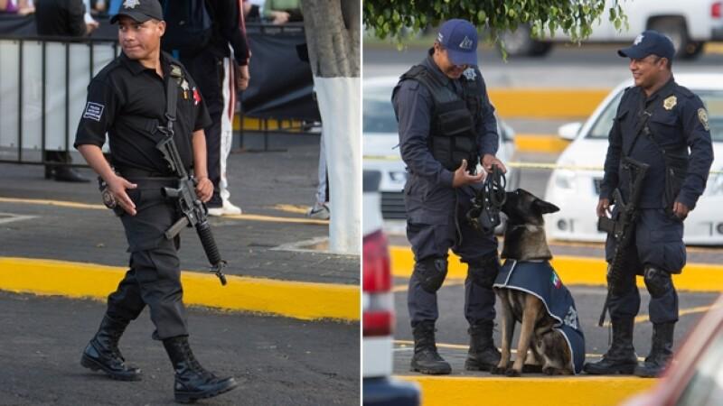 Policia seguridad FICM