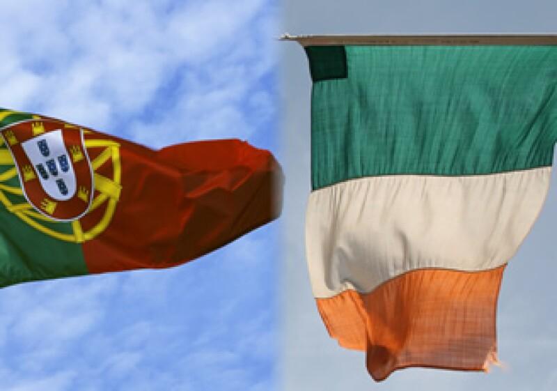 S&P ahora califica a Irlanda por encima de sus socios de la zona euro en problemas Portugal y Grecia, en línea con Fitch. (Foto: Photos to go)