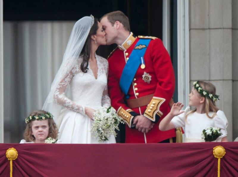 La boda de Kate Middleton y el príncipe William fue nombrada como la boda del siglo.