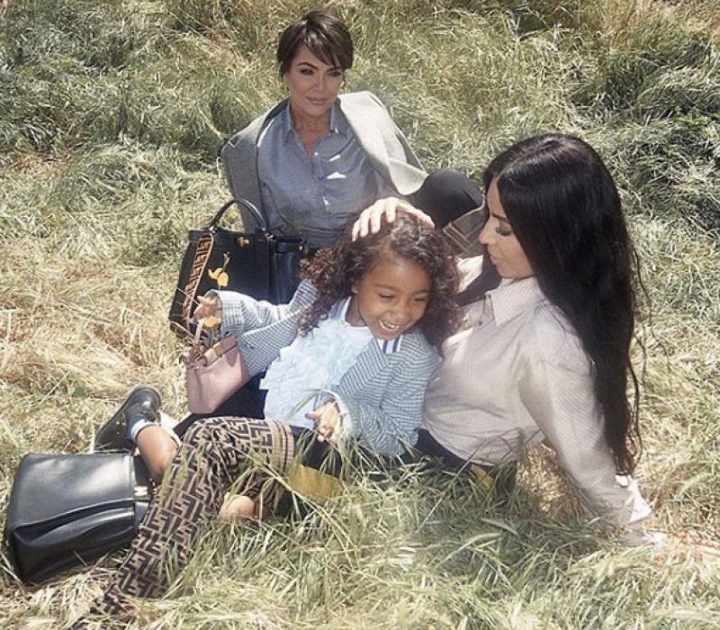 North West debuta como modelo de Fendi