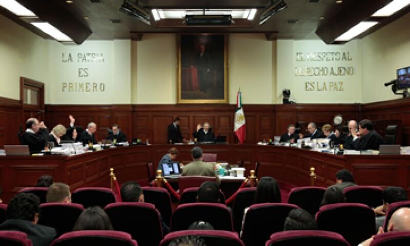 El Senado designará a dos nuevos ministros de los 11 que integran el máximo tribunal del país. (Foto: Cuartoscuro/Archivo )