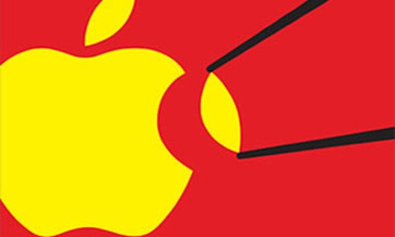 El iPhone de Apple ocupa apenas el 12% del mercado de smartphones en China. (Foto: Cortesía Fortune)