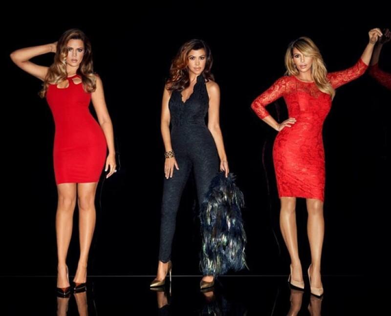 La socialité y sus hermanas lanzaron este lunes la campaña publicitaria de su propuesta de moda para otoño, en ella vemos lucir muy atractiva a la estrenada mamá.