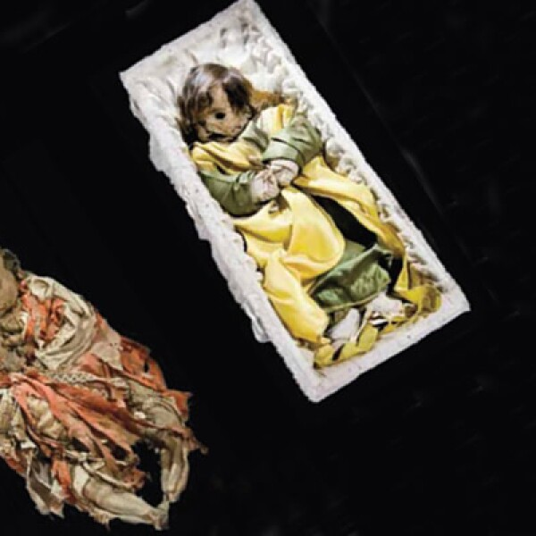 El museo muestra los cuerpos de 4 niños, los cuales fallecieron teniendo menos de un año de vida.