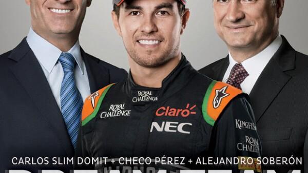 Carlos Slim Domit, Checo Pérez y Alejandro Soberón son los protagonistas de esta historia que tardó 23 años en regresar a nuestro país. Platicamos con los tres y posaron para la portada de Quién®.