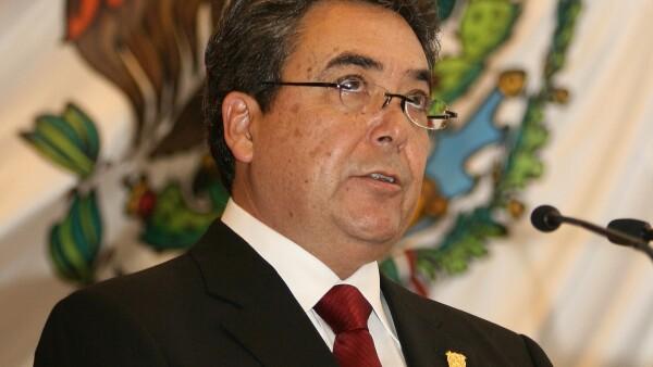 Toma de protesta de Jorge Torres Lpoez como gobernador sustituto