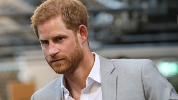 Príncipe Harry bochornoso descuido de su calzado