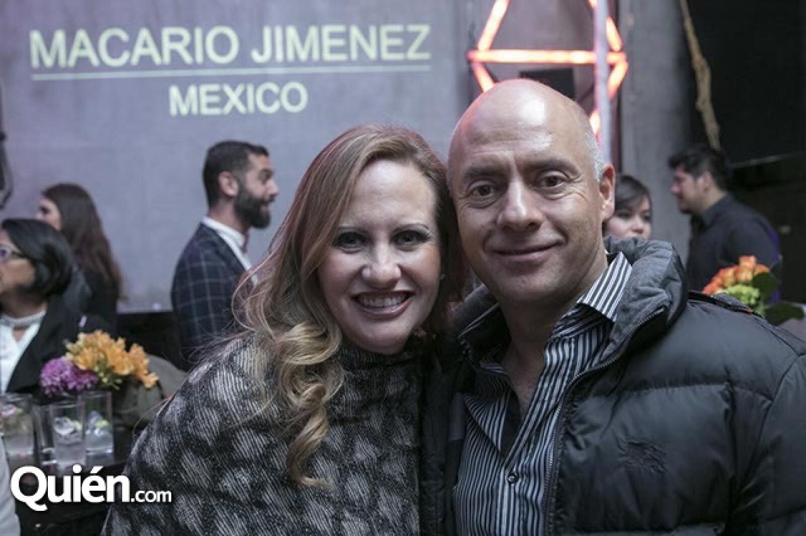 Gloria Ruíz y Salvador Guerrero