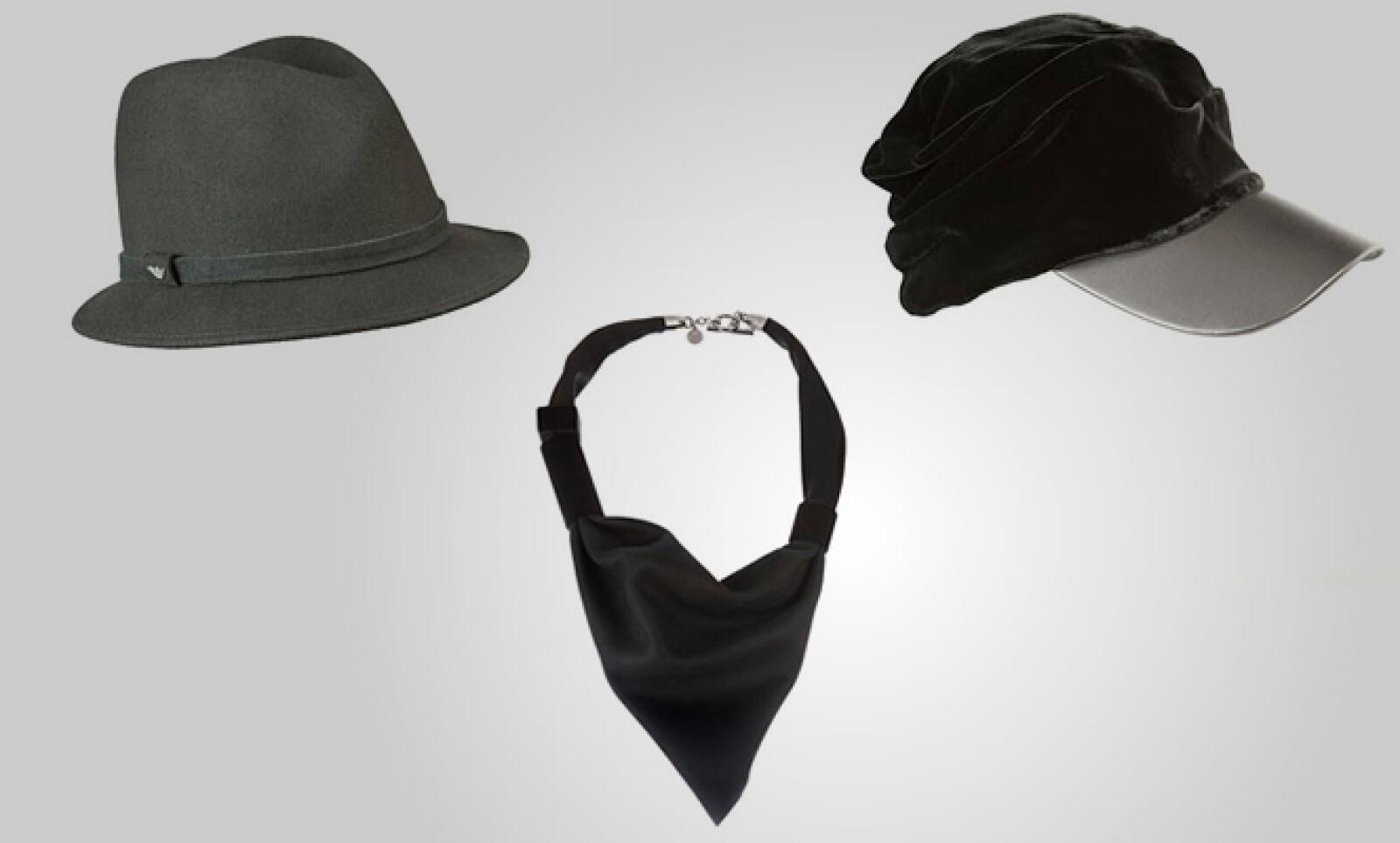 Para ellos también hay varias opciones de accesorios para la cabeza y el torso.
