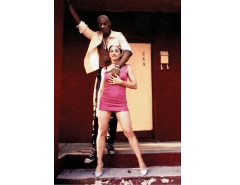 Madonna tuvo un breve romance con el controvertido basquetbolista.