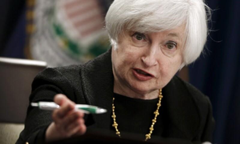 Janet Yellen, presidenta de la Fed, ve un alza en las tasas de interés este año.  (Foto: Reuters)