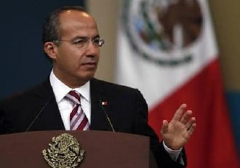 Felipe Calderón entrega este martes su paquete económico 2010 a la Cámara de Diputados. (Foto: Archivo Reuters)