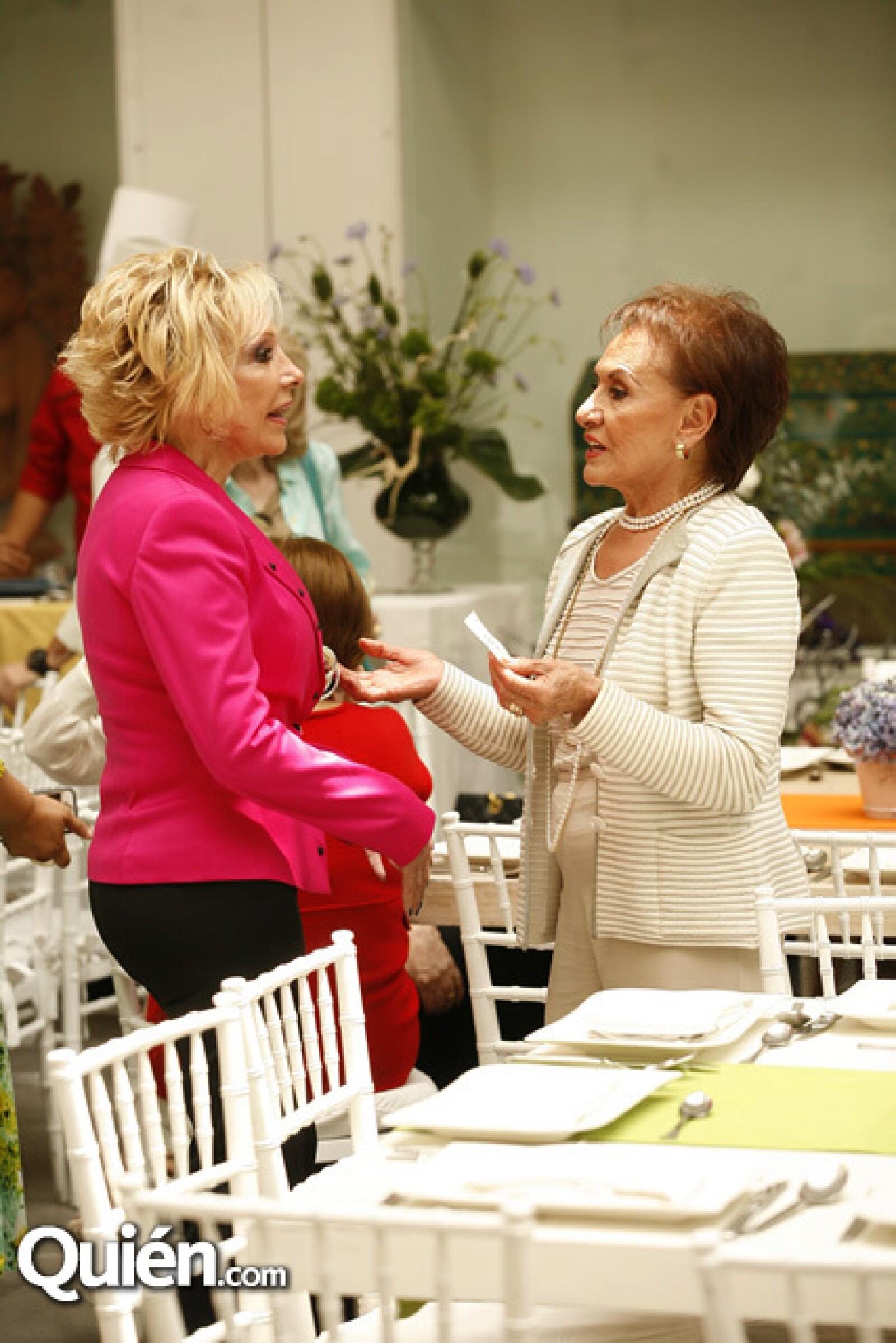 Cristina de Gómez e Iliana Aguirre