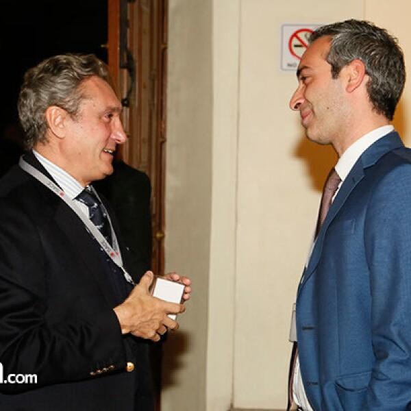 Roberto Caruso y Paolo Epifani