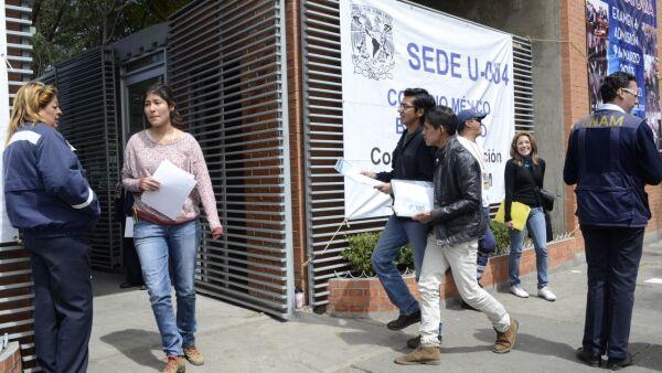 examen UNAM