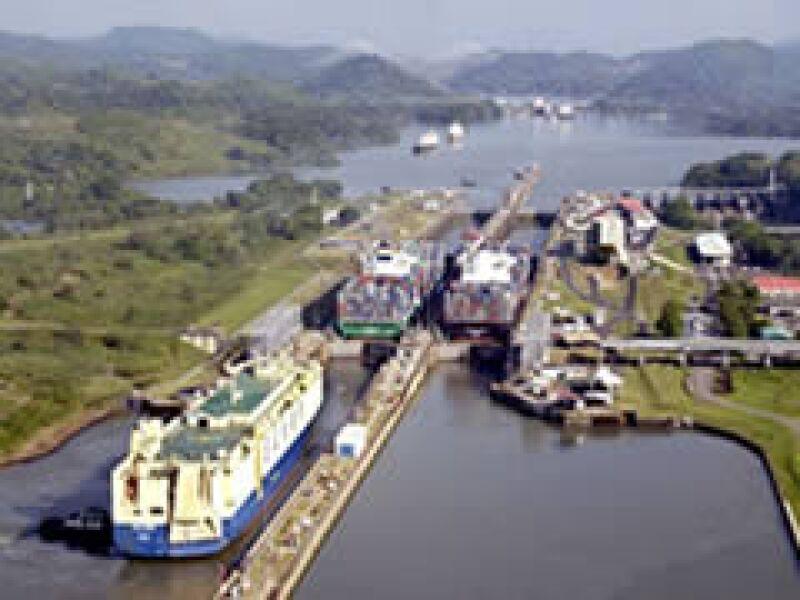 Con las obras, el canal llegará a su capacidad máxima sostenible en 2010. (Foto: Cortesía Canal de Panamá)