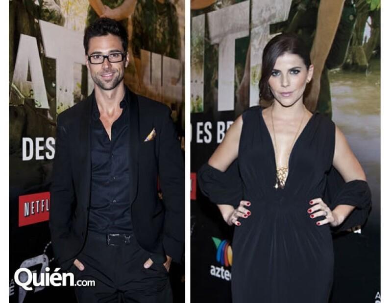 """El actor mantiene una relación amorosa con María Fernanda Yépez, su compañera en la serie """"La Teniente""""."""