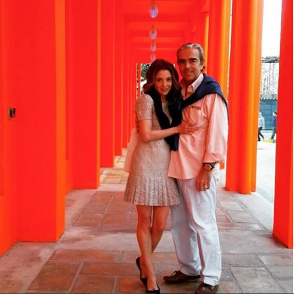 La pareja se casó el 24 de septiembre de 2010 en la Ciudad de México.