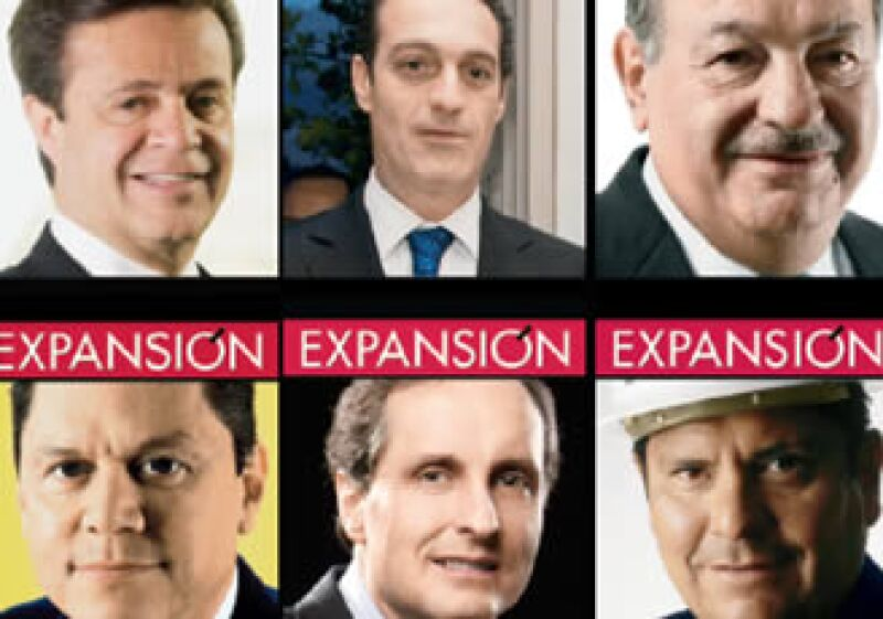 Carlos Slim Domit entró al listado este año con su padre Carlos Slim Helú (arriba, centro y derecha). (Foto: Archivo)