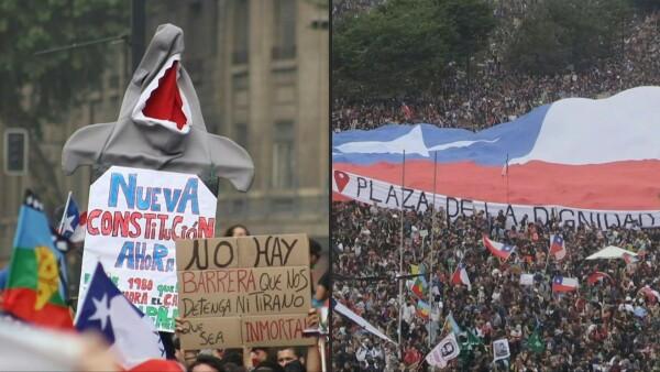 El Congreso chileno logra hacer una consulta popular para una nueva Constitución