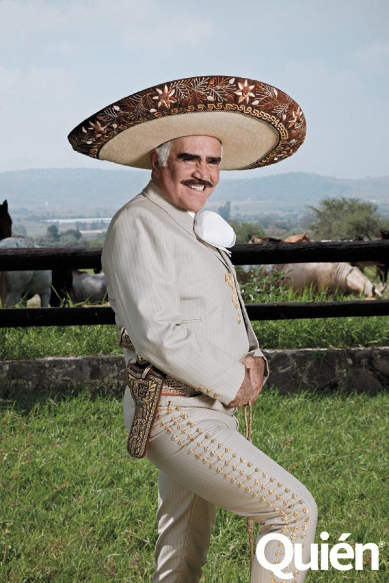 La razón por la que Vicente Fernández ama tanto a los caballos es porque, en palabras de él, son los animales más nobles.