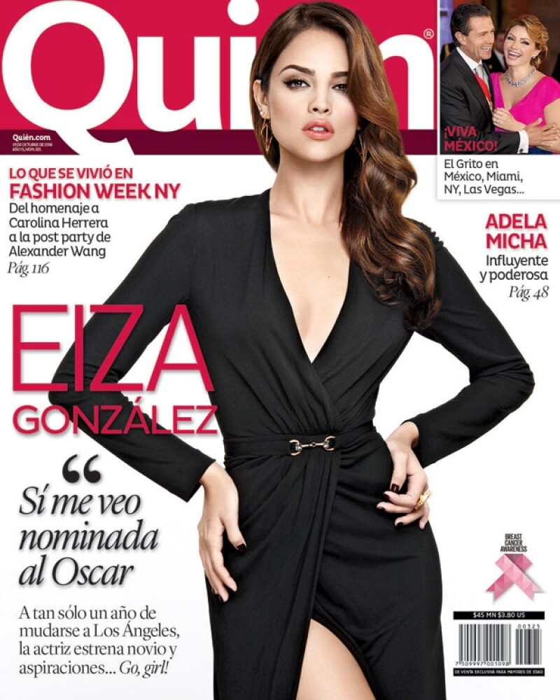 En la nueva edición de la revista Quién® la actriz nos cuenta cuáles son sus sueños ahora que está en LA, y cómo se perfila para alcanzarlos.