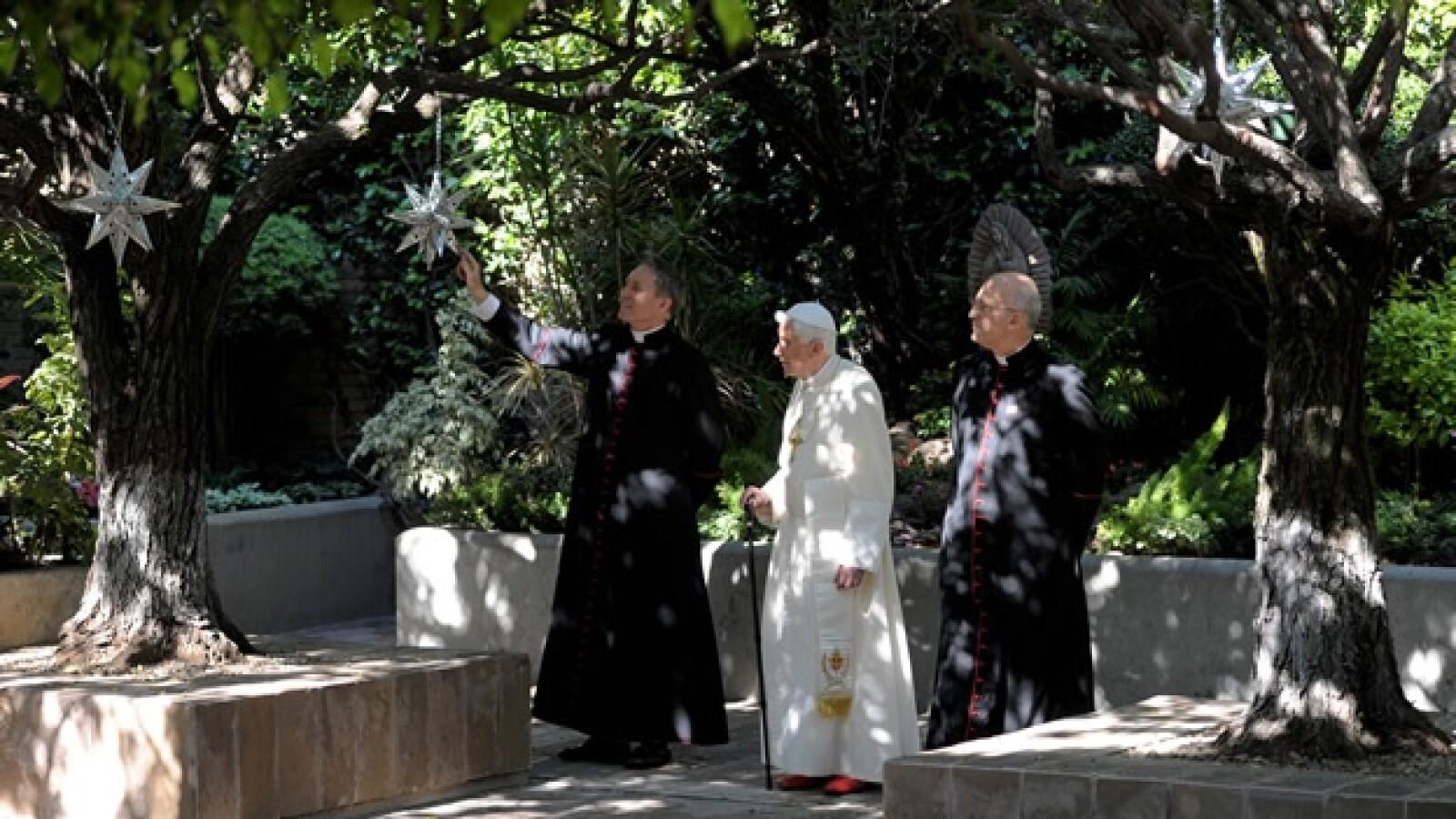 papa benedicto xvi colegio miraflores misa  2