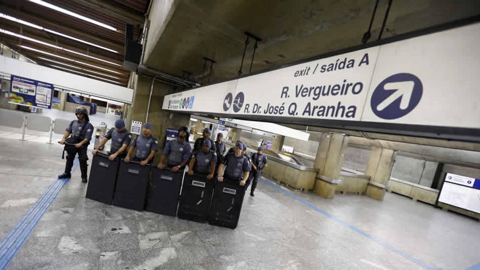 protestas Sao Paulo huelga 7