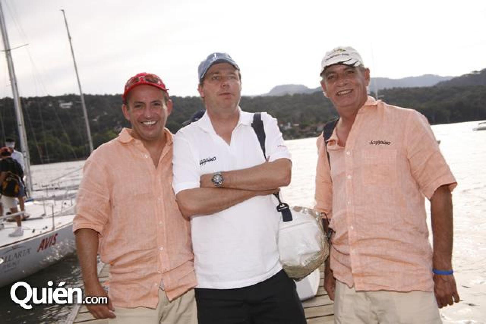 Miguel Bargallo,Carlos Pereda,Andres García