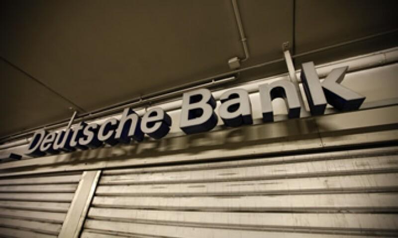Deutsche Bank es el mayor operador de divisas del mundo. (Foto: Reuters)
