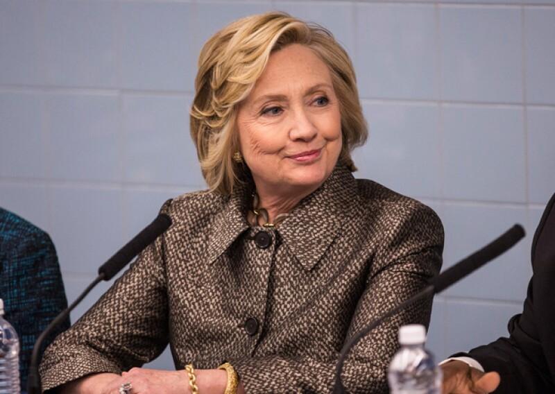 Desde JLo hasta Ariana Grande, ellos apoyarán a la esposa del ex presidente Bill Clinton en su campaña a la presidencia de Estados Unidos en 2016.