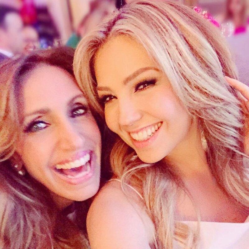 Lili Estefan es una de las mejores amigas de Thalía, por lo que después del evento hicieron su propia pijamada.
