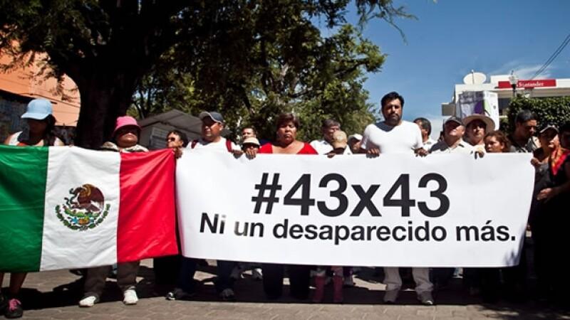 caravana, ayotzinapa, iguala, df