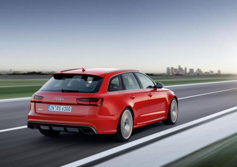 2 Audi RS6