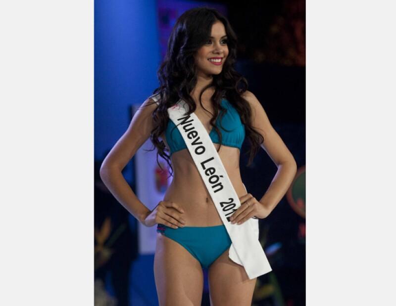 La originaria de Monterrey fue elegida anoche para representarnos en el certamen Miss Universo.
