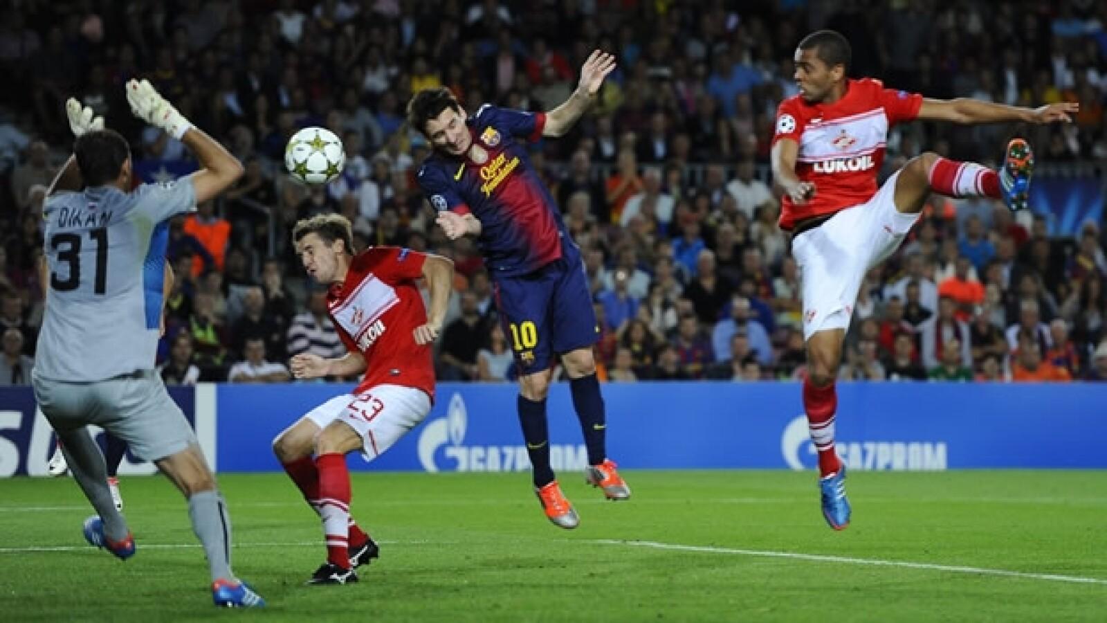 Barcelona vs. Spartak Moscú 2