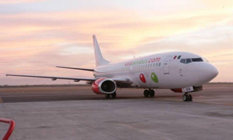 En febrero la línea aérea habrá transportado 10 millones de pasajeros desde que fue creada en noviembre de 2006. (Foto: Cortesía de VivaAerobus)